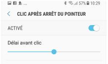 Clic automatique sous Android 7