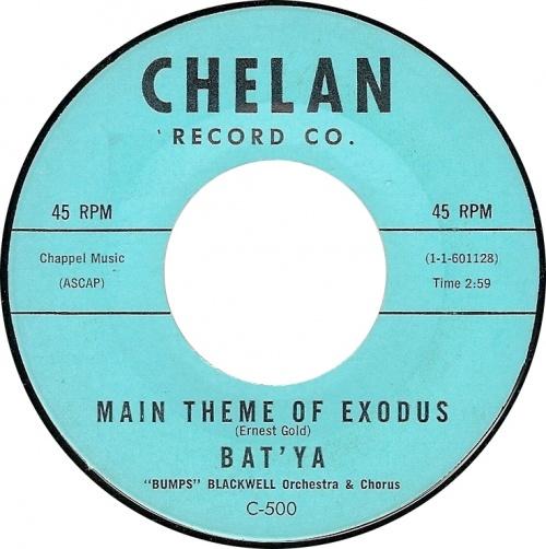 "Bat'Ya "" Bumps "" Blackwell Orchestra & Chorus : Main Theme Of Exodus"