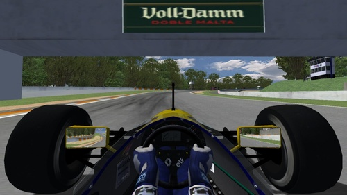 Team : Williams Renault - Renault RS3 3.5L v10
