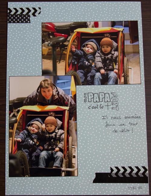 Mylène : Album Baptiste - Quelques pages A4 (6)