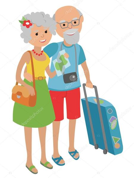 Résultats de recherche d'images pour «voyager en couple personnes âgées»