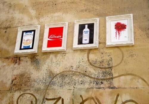 Kaï Aspire Camel Coca-cola street-art cadres