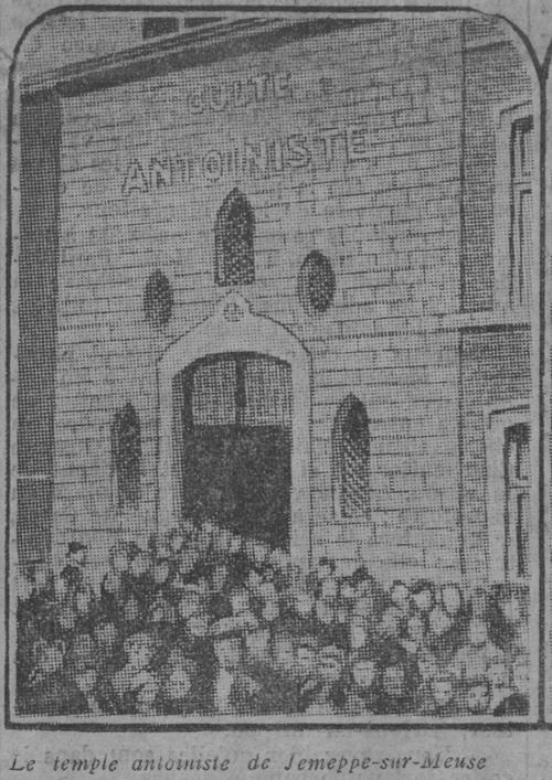 L'Antoinisme n'est pas mort - Le Temple (Le Journal, 30 sept 1912)