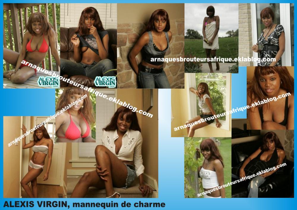 Alexis Virgin - photos volées pas des brouteurs ivoiriens pour arnaquer