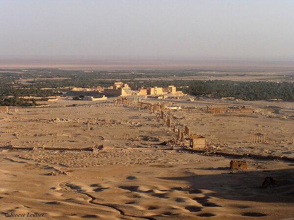 Syrie : Palmyre en 2005
