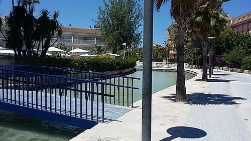 Alcudia là où nous séjournons à l'hôtel