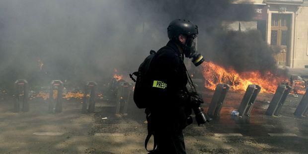 Des journalistes et photographes blessés par les forces de l'ordre pendant les manifestations des Gilets jaunes ont porté plainte.