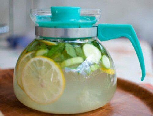 limonade au gingembre et au citron