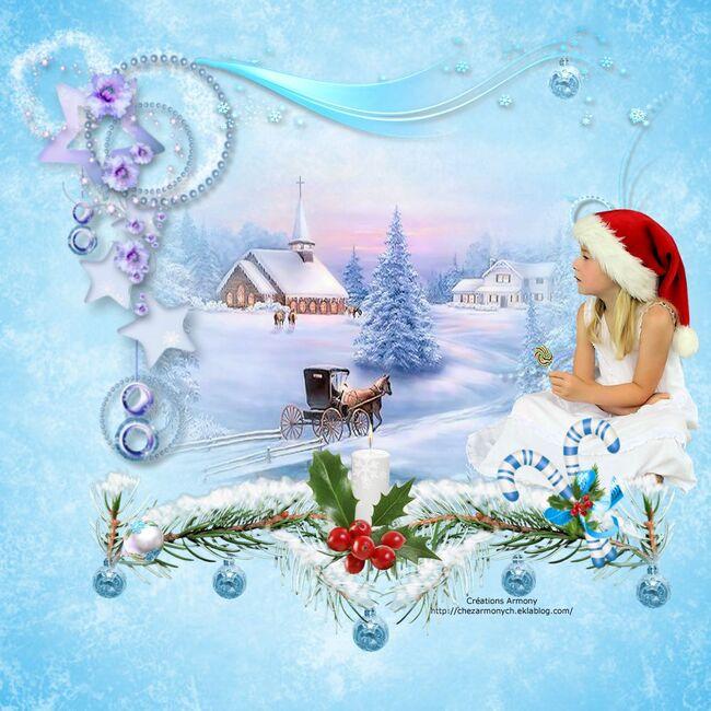 Super Tag de Noël + Cluster + Fond 6