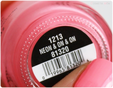 Neon & On & On ~ China Glaze