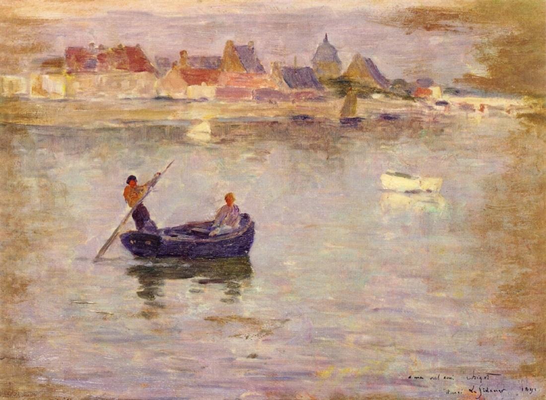 Le sidaner Henri (1862_1939) / du réalisme sentimental avant le symbolisme !