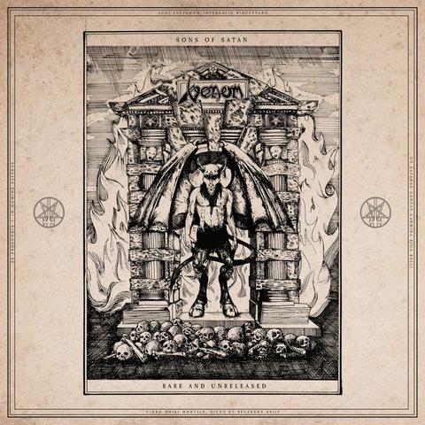 VENOM – Les détails de la compilation de demos Sons Of Satan