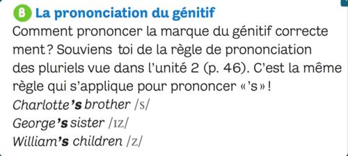 Thursday, April 2nd_SESSION 4_Le génitif (prononciation)