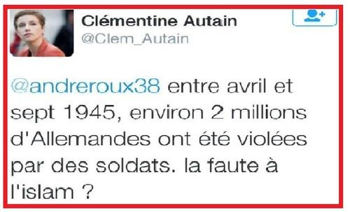 La communiste Clémentine Autain
