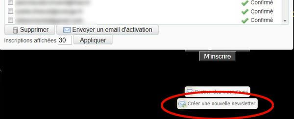 Comment créer une Newsletter