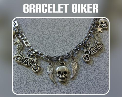 bracelet Biker pour femme