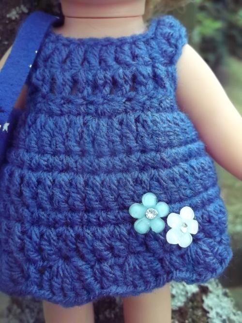 Séléné en bleu