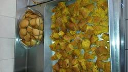 gâteau aux carottes et cookies à la citrouille