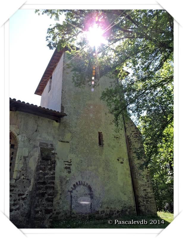 Église du vieux Lugo et rive de la Leyre - 4/6