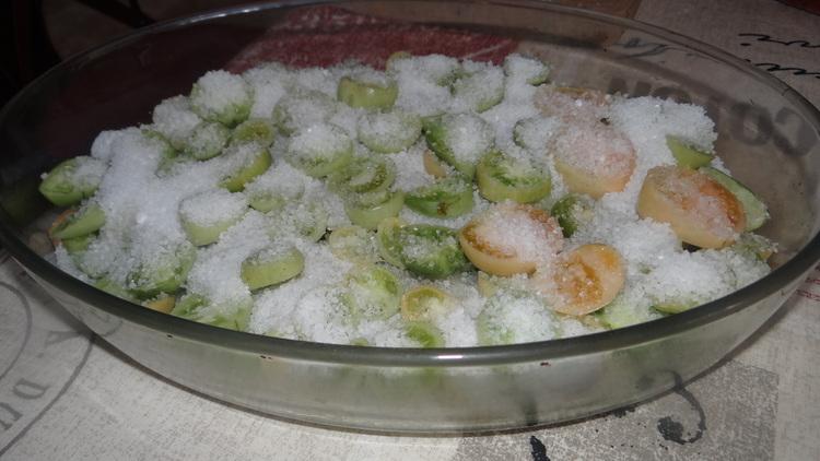 Tomates Vertes en Bocal