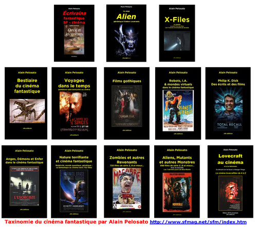 15 livres de taxinomie du cinéma fantastique !