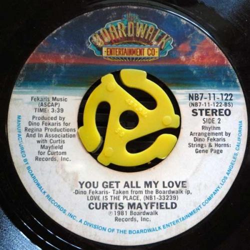 1981 : Single SP Boardwalk Records NB7-11-122 [ US ]