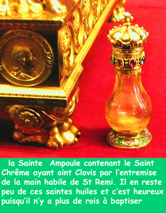 Clovis/Francs/st rémi/chrême