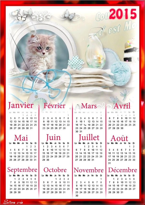 Calendriers offerts