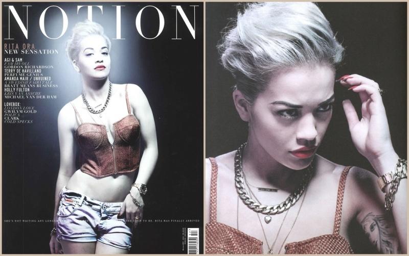 "Rita Ora dans le magazine "" Notion """