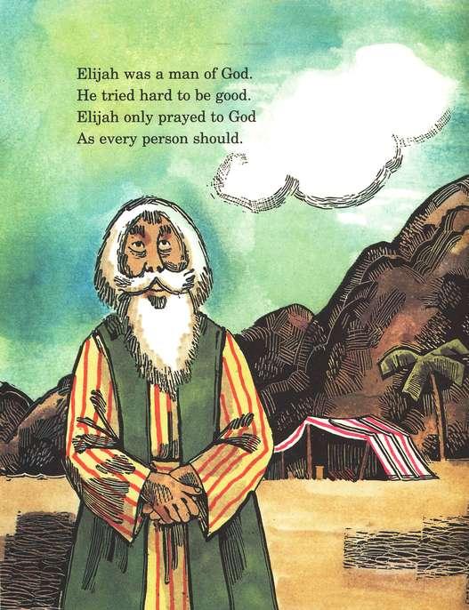 Arch Books Bible Stories: God's Fire for Elijah
