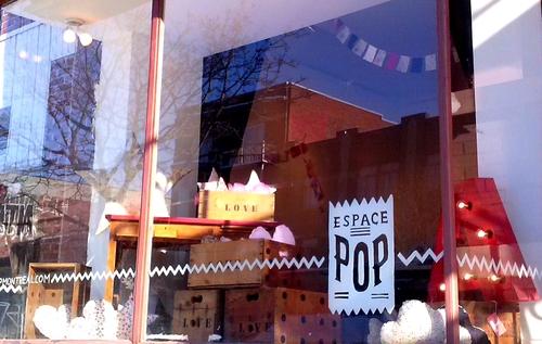 Love is in the air à l 'Espace POP aujourd'hui et jusqu'à dimanche 17h ...