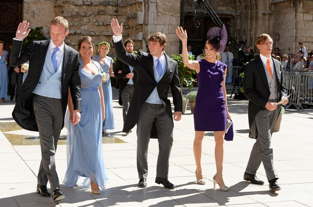 les Luxembourg au mariage