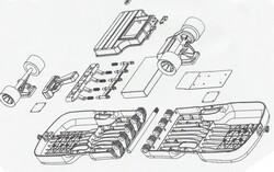http://www.gizmag.com/caseboard-folding-electric-skateboard/32471/