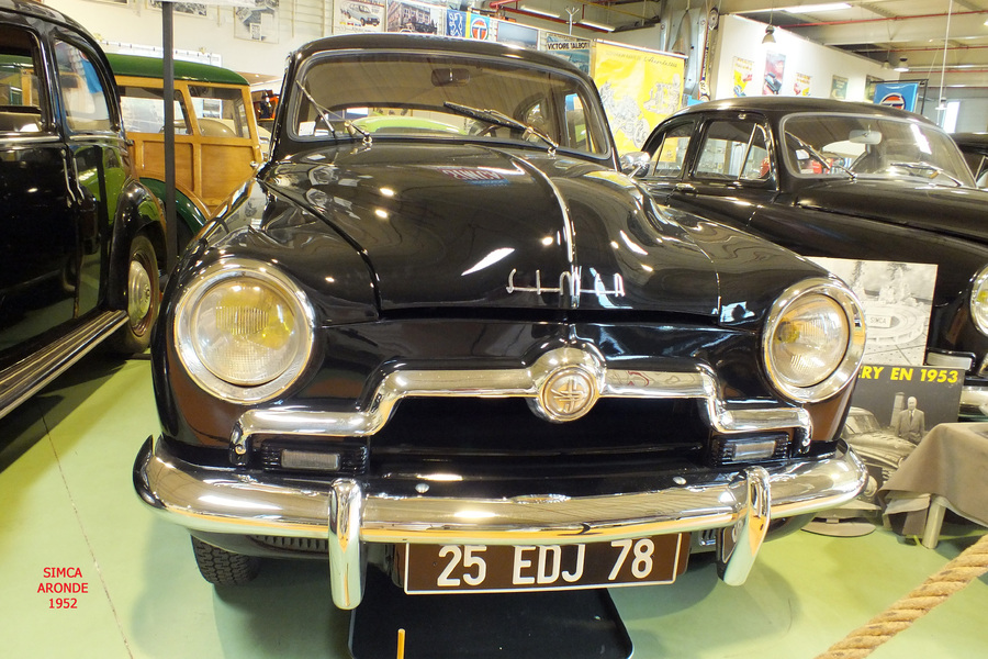 SIMCA ARONDE : LES BERLINES