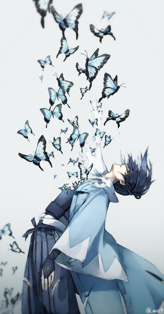 Un des personnage de l'anime Hakououki <--- allez le voir: