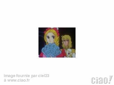 2 images de marie antoinette et oscar