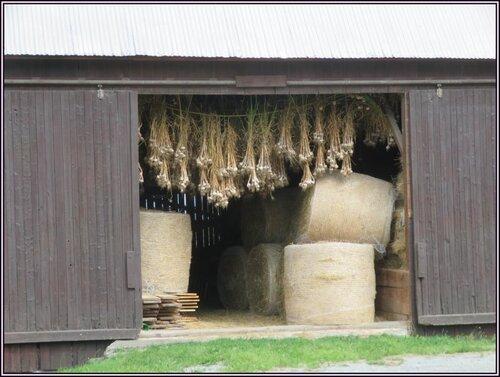 Vu dans l'entrée d'une grange....