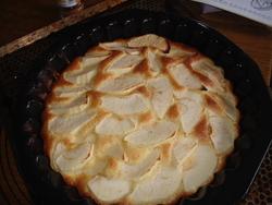 Tarte aux pommes, vite faite,bien faite...