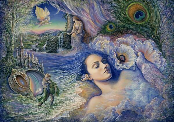 Peinture de : Joséphine Wall