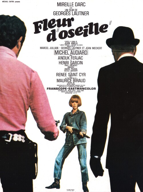 FLEUR D'OSEILLE - BOX OFFICE MIREILLE DARC 1967 PART II