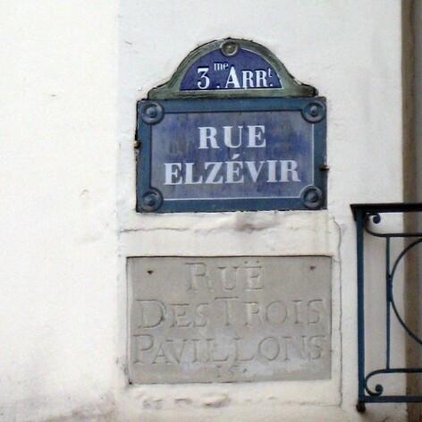 Les plus belles plaques de rues parisiennes