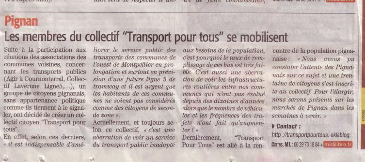 Midi Libre du 10 avril 2015