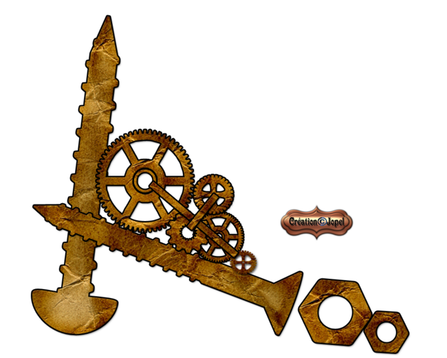 Kit papier steampunk par Jopel