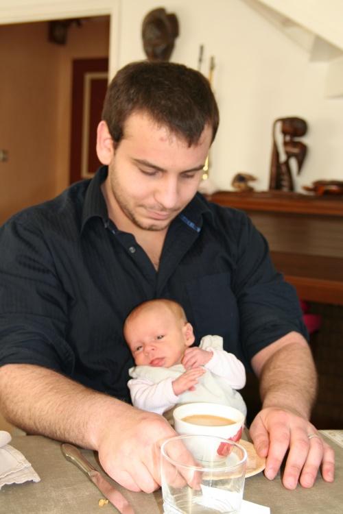 Gaëlle & Papa