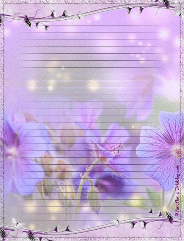 Papier Fleurs