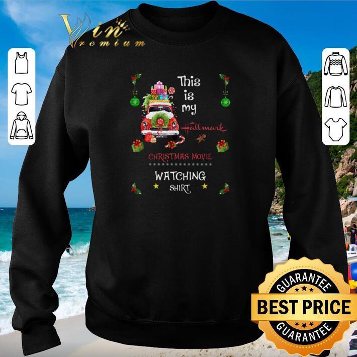 Original This is my hallmark Christmas movie watching shirt