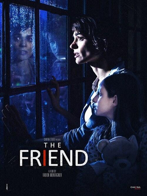"""Affiche de """"The Friend"""" (court métrage réalisé par Fabien Montagner)"""