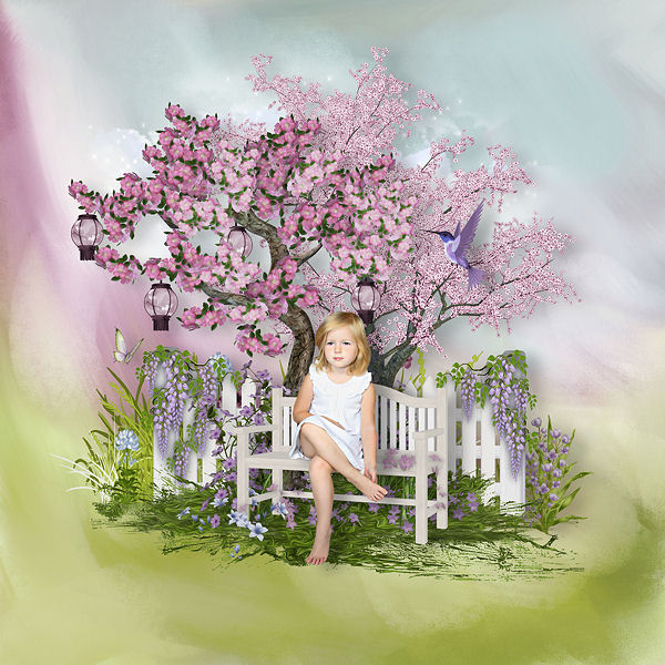 ORIENTAL DREAM by Scrap'Angie + freebie