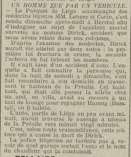 Louis Lenger et Corin (Journal de Liège et de la province 31-03-1914)