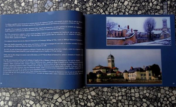 Un très bel ouvrage sur le village d'Ampilly le Sec vient de paraître...